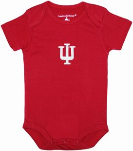 Indiana Hoosiers Newborn Infant Bodysuit