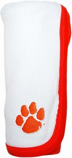 Clemson Tigers Thermal Baby Blanket