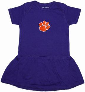 Clemson Tigers Picot Bodysuit Dress