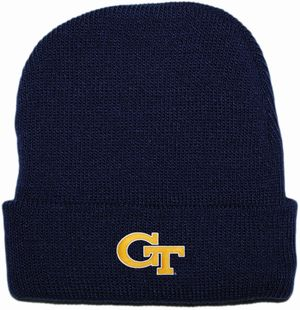 Georgia Tech Yellow Jackets Newborn Baby Knit Cap