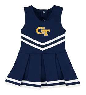 Authentic Georgia Tech Yellow Jackets Cheerleader Bodysuit Dress