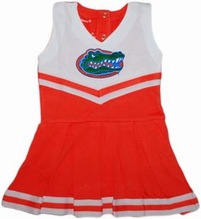 Authentic Florida Gators Cheerleader Bodysuit Dress